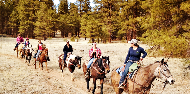 Save 55% on Horseback Trail Rides in Flagstaff thru November