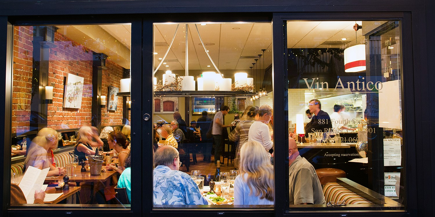 $55 -- Farm-To-Table Dinner for 2 in San Rafael, Reg. $106