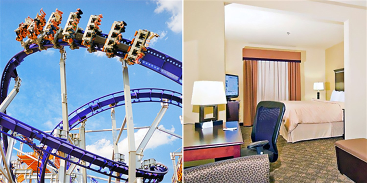 $69-$89 -- Arlington Suite Hotel near Six Flags, 35% Off