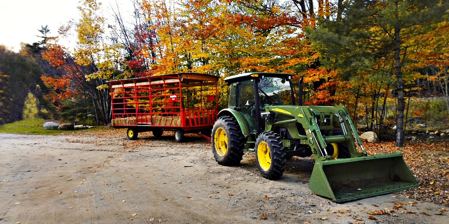 Up to 50% Off: Fall Hayrides or Winter Snow Tubing