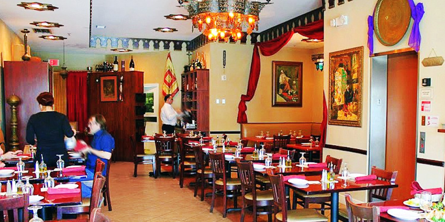 $25 -- Maroosh: Zagat 'Excellent' Mediterranean Dining for 2