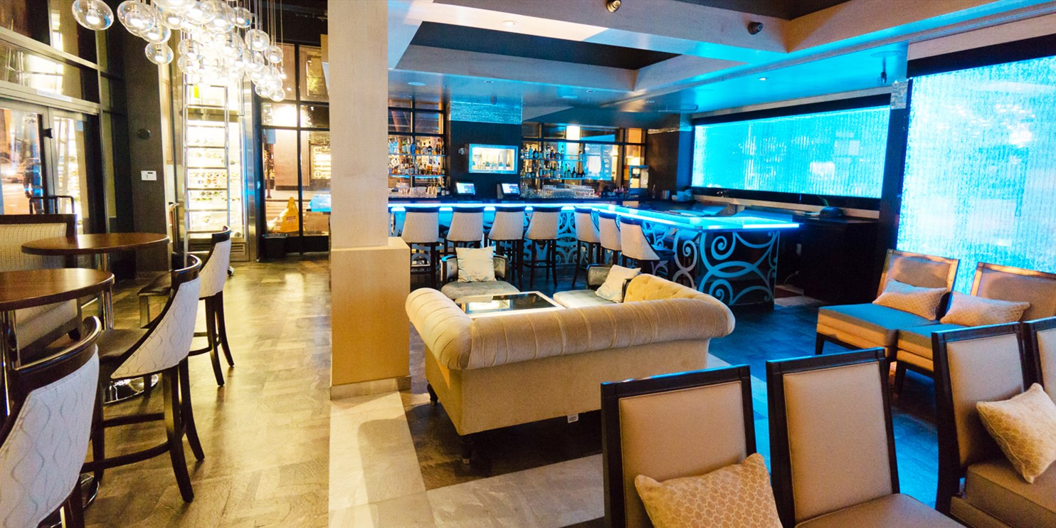 Aqua Lounge Champagne Bar: 50% Off Drinks & Apps in Downtown