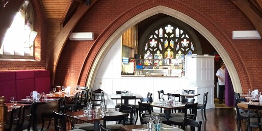 £35 -- 3-Course Meal for 2 in Converted Chapel, 40% Off