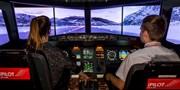 59 € -- Erlebnis als Pilot im Flugsimulator in Zürich, -54%