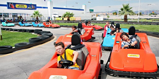 $35 -- Mini Gran Prix: 2-Hr. Unlimited Pass w/Pizza & Drink