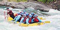 $62 -- Whitewater Rafting in Kananaskis, Half Off
