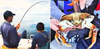 $399 -- Vancouver Salmon & Crab Fishing for 3, Save $225