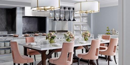 $99 -- 'Elegant' Fine Dining & Drinks for 2 at 5-Star Hotel