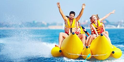 巴厘岛滑翔伞+香蕉船+水上摩托等