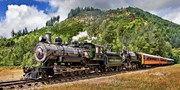 $32 -- Mount Rainier Scenic Train Ride: 2 Tickets, 50% Off