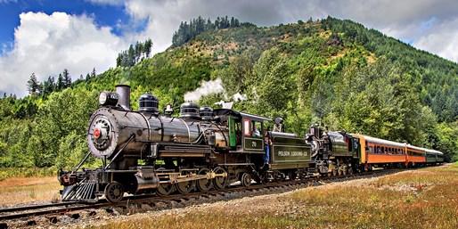 $39 -- 2 Tickets: Mt. Rainier Railroad Ride, 50% Off