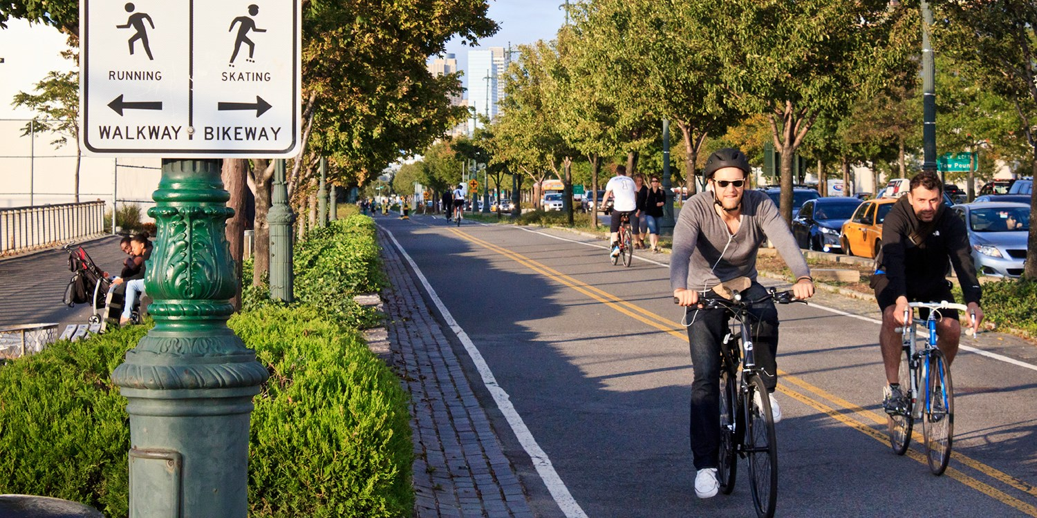 $10 -- Bike Along Hudson River thru Summer, 50% Off