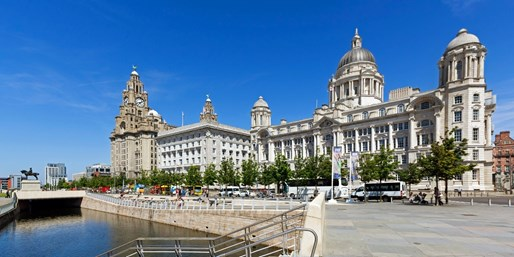 £9 -- Sightseeing Open-Top Bus Tour of Liverpool for 2