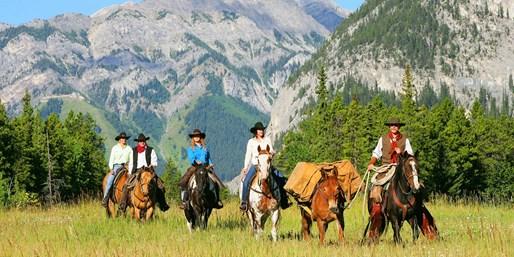 $299 -- Banff: 2-Day Horseback Adventure, Reg. $505