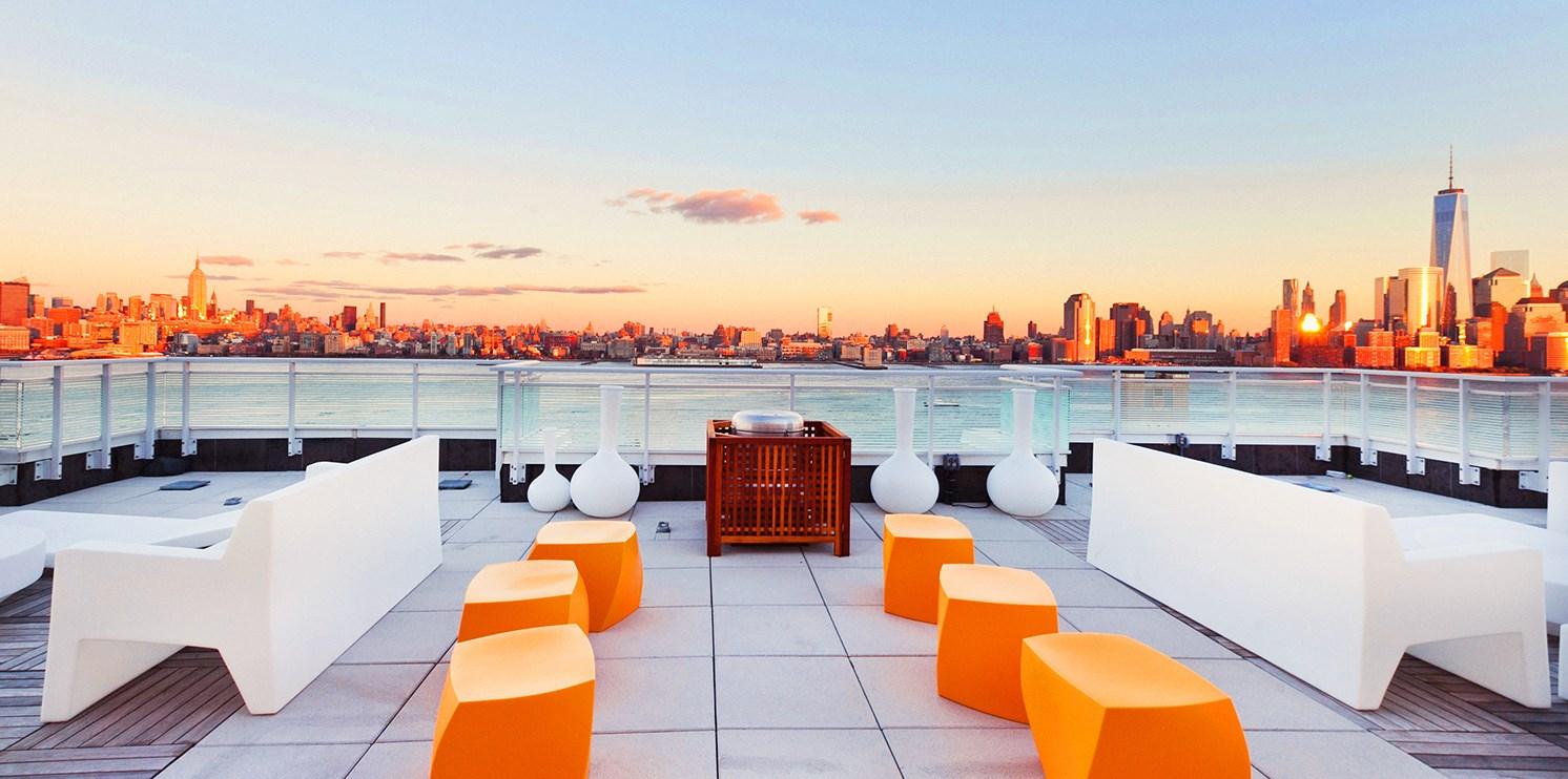 Sky City Apartments at Riverfront North -- Jersey City , NJ
