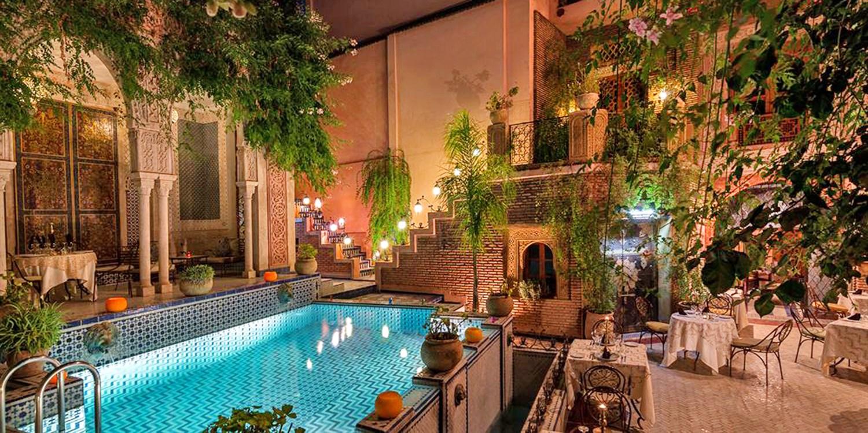 Palais Sebban -- Marrakesch, Marokko