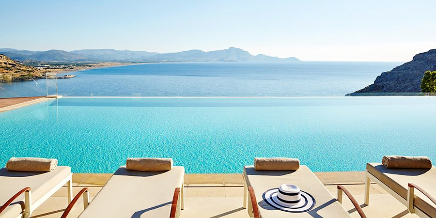 Lindos Blu Luxury Hotel & Suites - Adults Only -- Rhodes Island, Greece