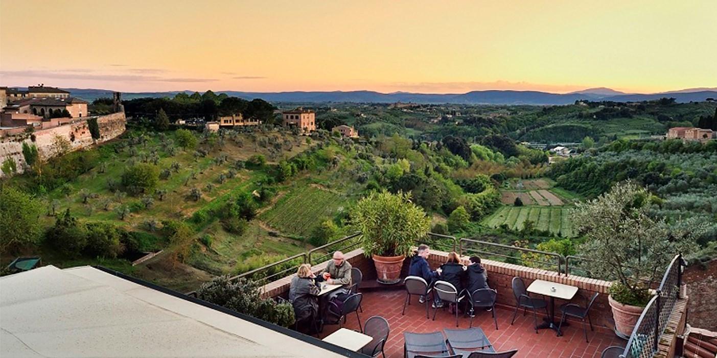 Hotel Athena -- Siena, Italien