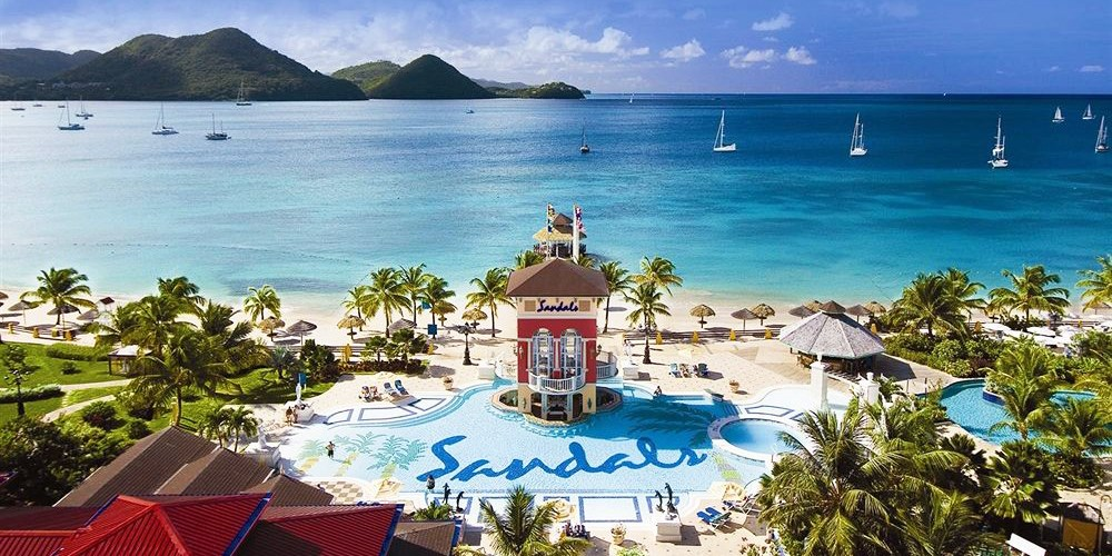 Sandals Grande St. Lucian Spa & Beach Resort - All Inclusive -- Cap Estate, St. Lucia