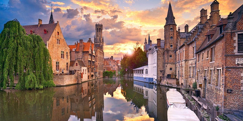 ab 69€ – Romantisches Brügge: 4*-Hotel an der Gracht, -50% -- Brügge, Belgien