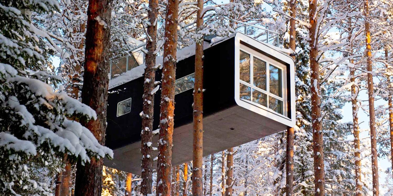 Tree Hotel -- Norrbottens Län, Sweden