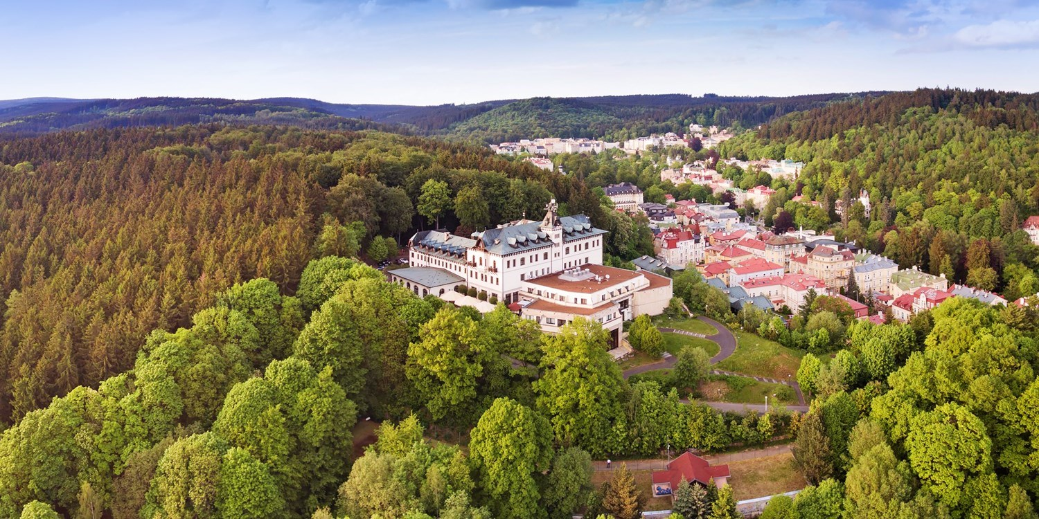 99 € – Wellnesshotel in Marienbad mit Halbpension & Massage -- Marienbad, Tschechien