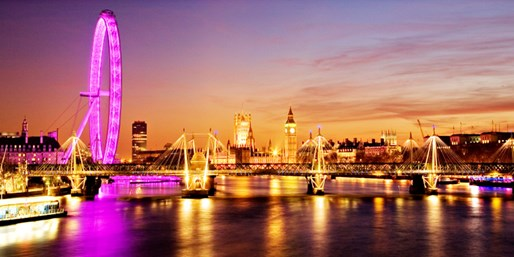 $2525 & up -- London: 5-Night, 5-Star Trip w/Air & Breakfast