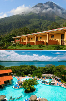 Top: Los Lagos<br>Bottom: Allegro Papagayo