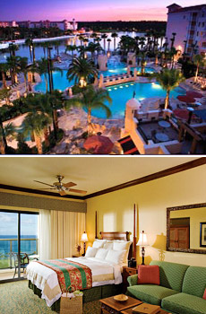 Above: Marriott's Grande Vista<br>Below: Marriott's KoOlina Beach Club