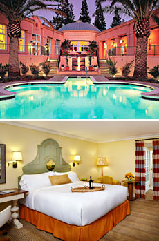 Top: Fairmont Sonoma<br>Bottom: Upgrade to a renovated deluxe room