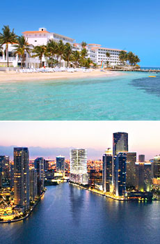 Top: Couples Tower Isle, Jamaica<br>Bottom: Miami