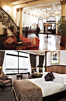 Top: Millennium Bailey's Hotel <br>Bottom: Millennium Knightsbridge Hotel