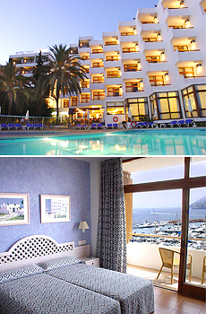 Top: Hotel Tres Torres<br>Bottom: Standard Room