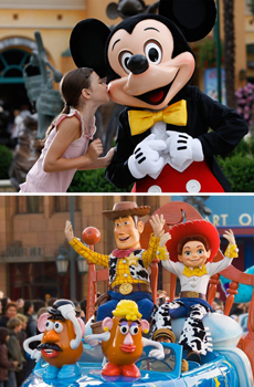 Espectáculos Disney