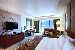 Conrad Cotai King bed Room