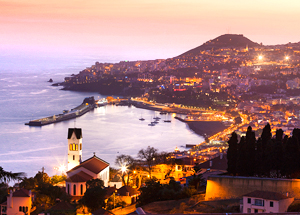 Vista de Funchal