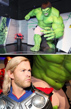 The Marvel 4D experience