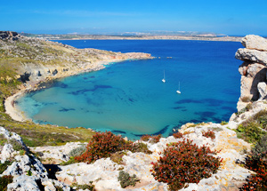 Bahía de Melieha, en Malta