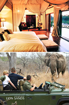 Top: Tinga Game Lodge<br>