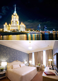 Top: Radisson Royal Hotel<br>Bottom: Superior Room