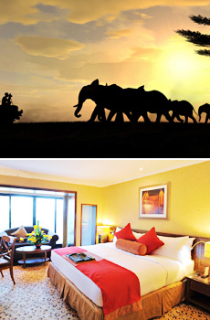 Bottom: Intercontinental Nairobi