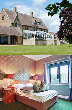 Top: Cricklade House<br>Bottom: Cricklade Sleeper Room