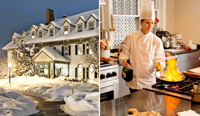 $299 - Luxe Vermont 2-Night Culinary/Spa Getaway, Reg. $800