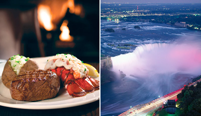 $125 - Niagara: Canadian Fallsview Suite Package (Reg. $275)