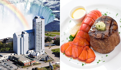 $130 - Niagara Falls Getaway for 2 w/Dinner, Wine Tastings