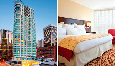 $149 - Weekend Stay: 4-Diamond Vancouver Hotel w/$50 Credit