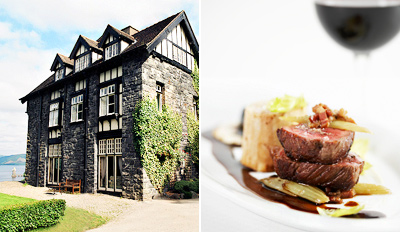 £129 - Snowdonia Country Escape w/5-Course Dinner, Reg £210+