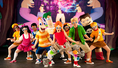 $25 - Main Floor: 'Phineas and Ferb' in Lincoln, Reg. $35