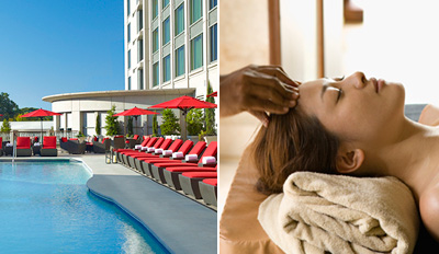 $99 - InterContinental Massage & Pool Day w/Wine, Reg. $195