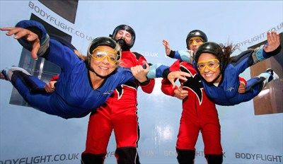 £39 - Indoor Skydiving for 2 in Bedfordshire, Reg £94